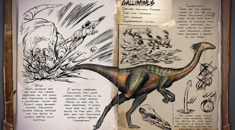 ARK Survival Evolved Новые динозавры Gallimimus | Галлимим  ARK Survival Evolved