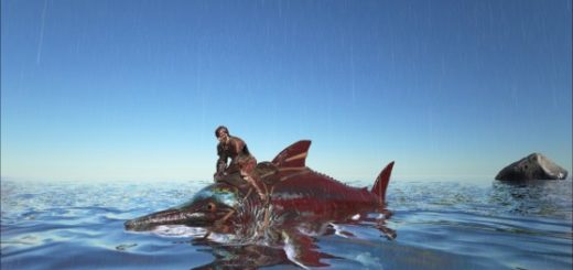 ARK Survival Evolved Седло для Ихтиозавра | Ichthyosaurus
