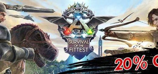 Купить ARK: Survival Evolved можно со скидкой 20 % до 3 августа.