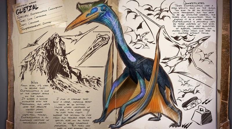 ARK Survival Evolved Новые динозавры Квезаль | Quetzal