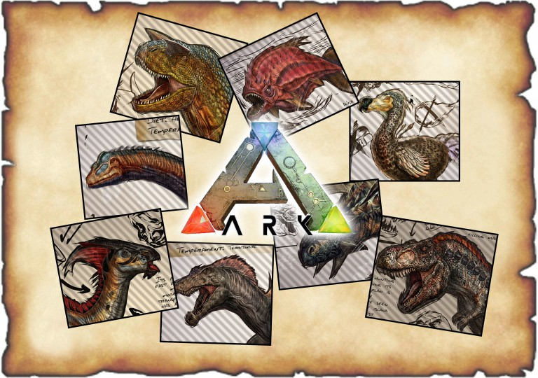 Ark Survival Evolved Динозавры