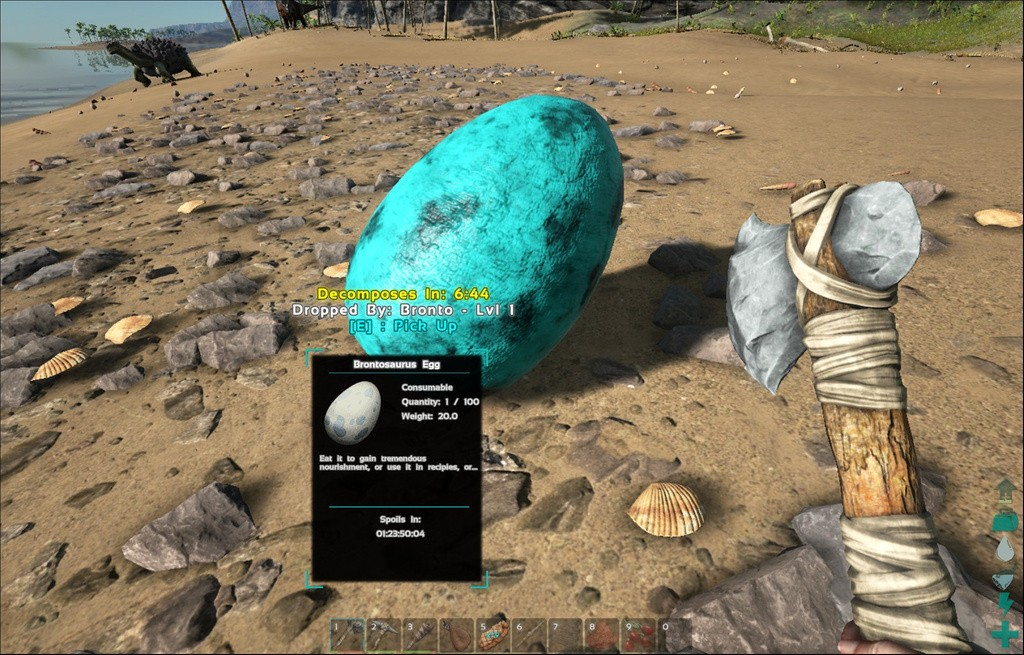 ARK Survival Evolved Яйца