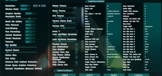 Как поменять разрешение экрана ARK Survival EVolved