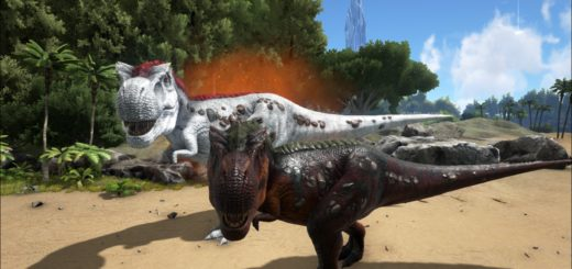 Alfa T Rex ARK: Survival Evolved Альфа Тирекс