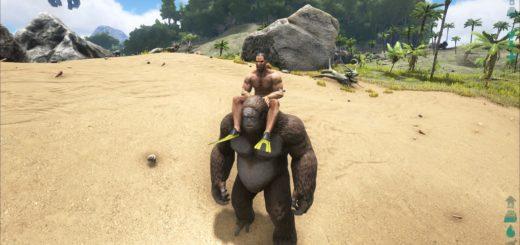 ARK: Survival Evolved Как приручить Гигантопитека