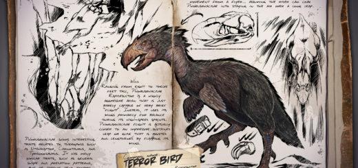 ARK Survival Evolved Ужасная птица