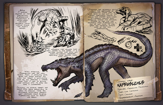 Капрозух ARK Survival Evolved