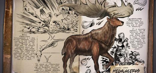 Гигантский олень | Megaloceros