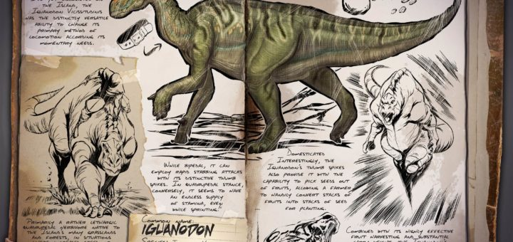 Игуанодонт | Iguanodon ARK Survival Evolved