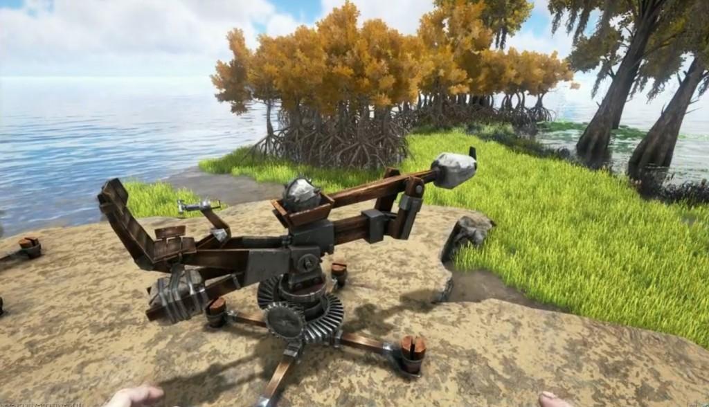 Новый предмет: Катапульта (Catapult)