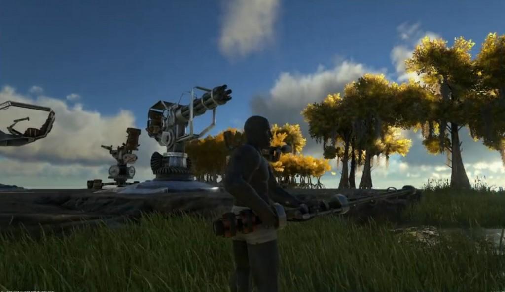 Новый предмет: Пулемет (Minigun Turret)