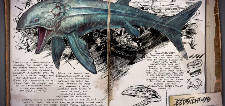 Лидсихтис | Leedsichthys