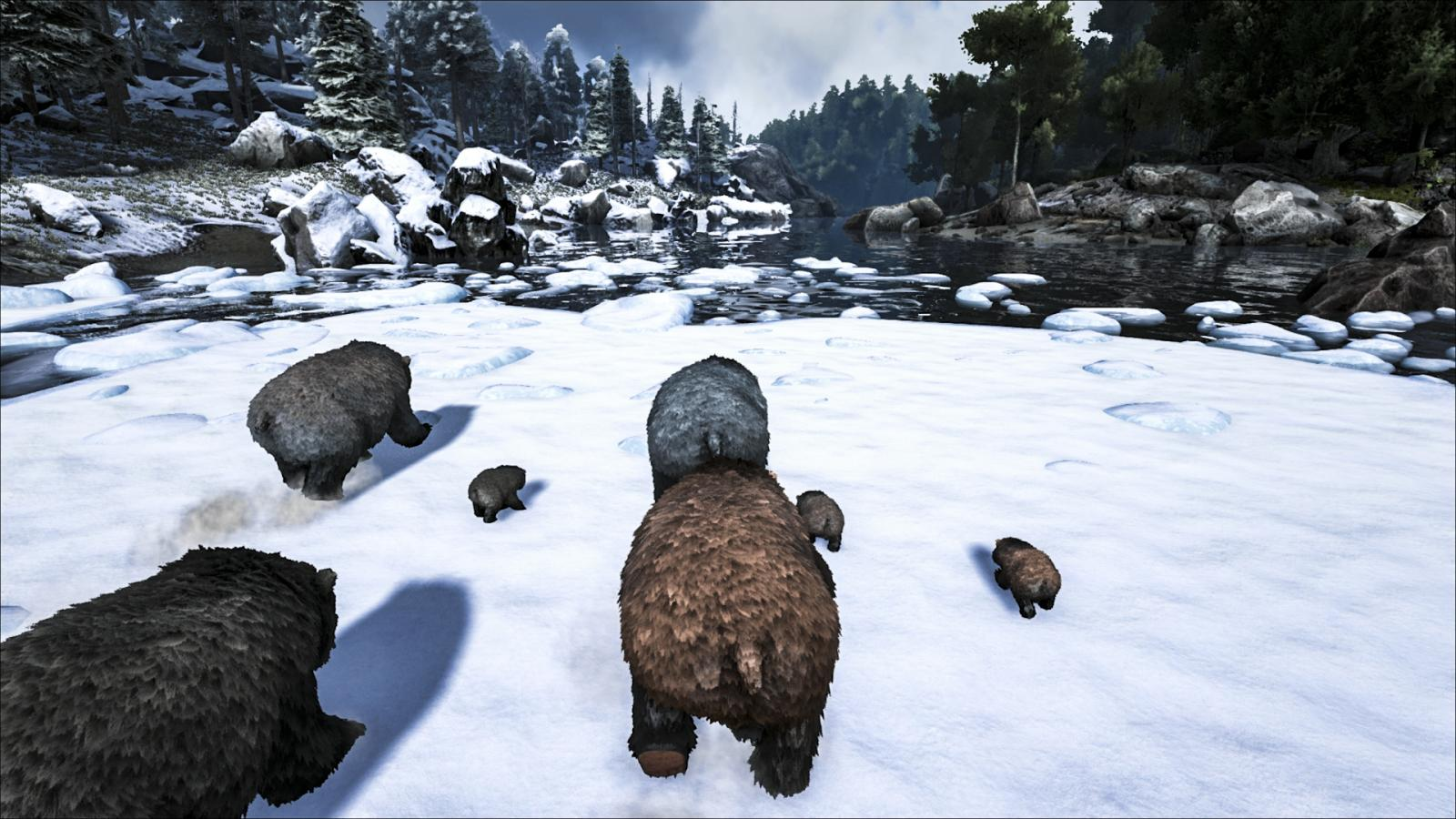 ARK Primal медведь