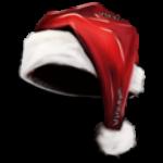 """Скин для головного убора """"Новогодняя шапка"""""""