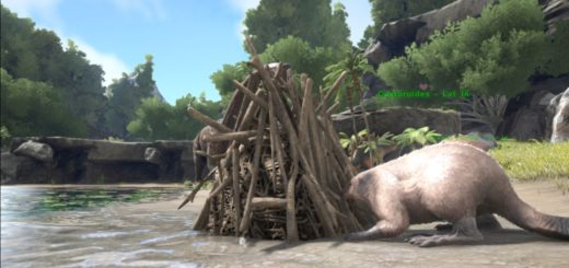 Карта Появления Бобровых Плотин ark survival evolved
