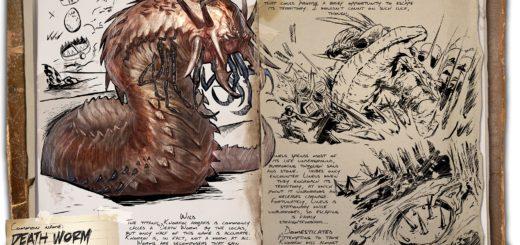 Линеус | Смертельний червь| Lineus ARK Scorched Earth