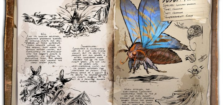Desert Moth ARK: Scorched Earth
