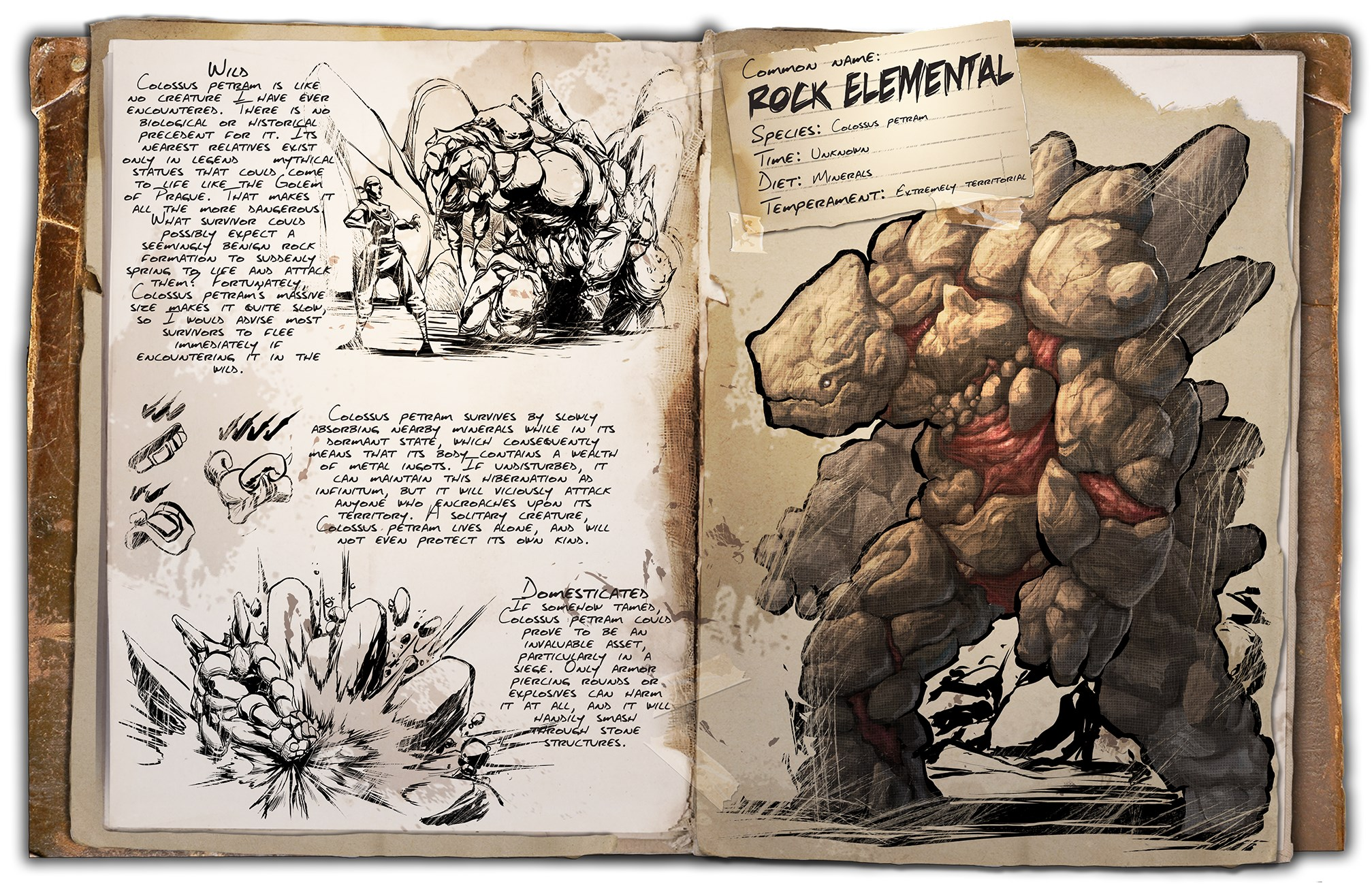 Rock Elemental ARK Scorched Earth