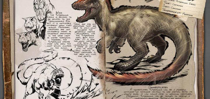 Ютираннус | Yutyrannus ARK Survival Evolved