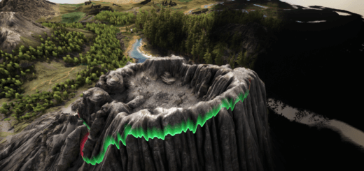 Извержении вулкана ARK Survival Evovled