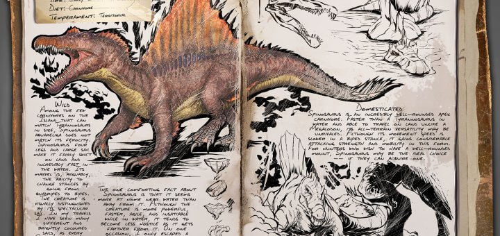 Спинозавр после 279 патча
